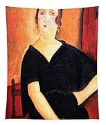 Modigliani's Madame Amedee -- Woman With Cigarette Tapestry