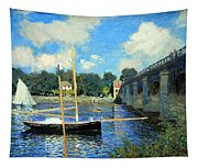 Monet's The Bridge At Argenteuil Tapestry