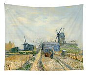 Montmartre Mills And Vegetable Gardens Tapestry