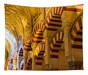 Mosque Cathedral Of Cordoba  Tapestry