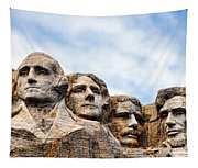 Mount Rushmore Monument Tapestry