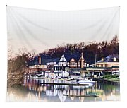 On Boathouse Row Tapestry