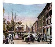 New York City, C1820 Tapestry