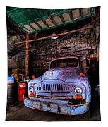 Old Pickup Truck Hdr Tapestry