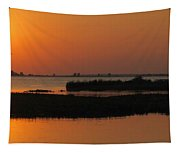 Panoramic Sunset Tapestry