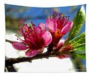 Peach Blossom Tapestry