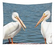 Pelican Pals Tapestry