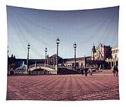 Plaza De Espana Tapestry