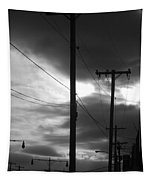 Poles And Sunsets Tapestry