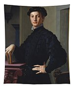 Portrait Of A Young Man Tapestry