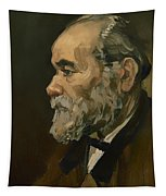 Portrait Of An Old Man Tapestry