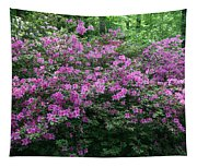 Purple Azaleas Tapestry