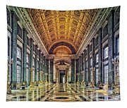 Reception Hall Of The Capitol - Havana Cuba Tapestry