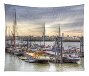 River Thames Boat Community Tapestry
