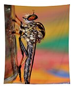 Robber Fly Tapestry