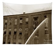 Rochester Show Case Co. Fire New York State Circa 1904 Tapestry