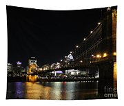 Roebling Suspension Bridge 9939 Tapestry