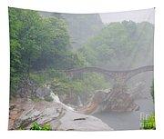 Roman Bridge Tapestry