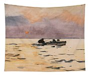Rowing Home Tapestry