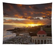 San Juan Sunrise Tapestry