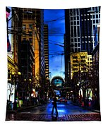 Seattle Streets Tapestry