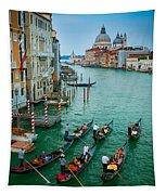 Six Gondolas Tapestry