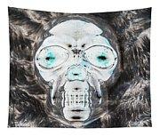 Skull In Negative Tapestry