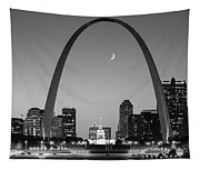 Skyline, St. Louis, Mo, Usa Tapestry