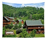 Smoky Mountain Cabins Tapestry