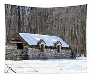 Snow On The Roof Tapestry