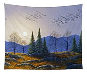 Southern Migration By Moonlight Tapestry