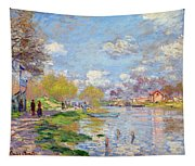 Spring By The Seine Tapestry