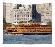 Staten Island Ferry Tapestry