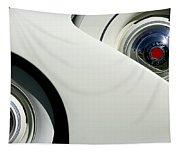 Streamlined In White Tapestry