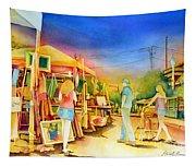 Street Art Fair Tapestry