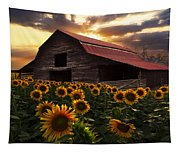 Sunflower Farm Tapestry