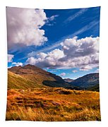 Sunny Day At Rest And Be Thankful. Scotland Tapestry