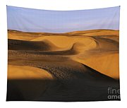 Sunrise At Oceano Sand Dunes Tapestry