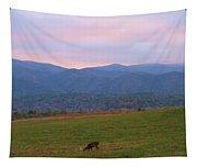Sunrise In Cades Cove Tapestry