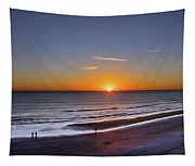 Sunrise Over Atlantic Ocean, Florida Tapestry