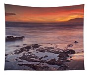 Sunset In Marbella Tapestry