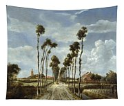 The Avenue At Middelharnis Tapestry