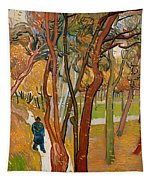 The Garden Of Saint Paul's Hospital Tapestry