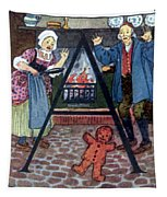 The Gingerbread Boy Tapestry