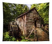 The Mill At Cades Cove Tapestry