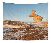 The Rabbit Stone Formation In White Desert Tapestry