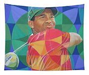 Tiger Woods Tapestry