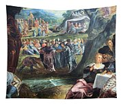 Tintoretto's The Worship Of The Golden Calf Tapestry