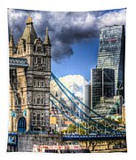 Tower Bridge And The City Tapestry