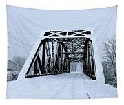 Train Bridge Tapestry